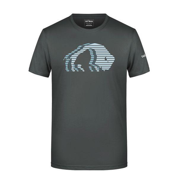 Tatonka Logo T-Shirt Men graphite grau T-Shirts 4013236314649