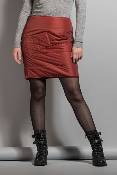 Tatonka Carli W's Padded Skirt redbrown rot Röcke & Kleider 4013236256284