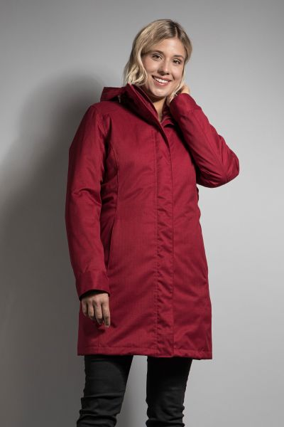Tatonka Jonno W's 3in1 Coat cherry red rot Mäntel 4013236276312