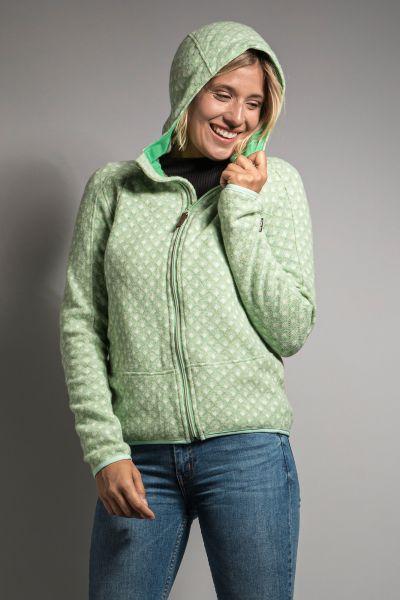 Tatonka Kolma W's Hooded Jacket mint grün Jacken 4013236309317