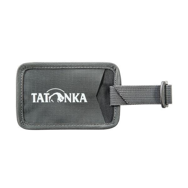 Tatonka Travel Name Tag titan grey grau Rucksack-Zubehör 4013236270501