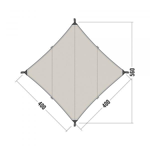Tatonka Tarp 3 TC sand beige braun Tarps 4013236315608