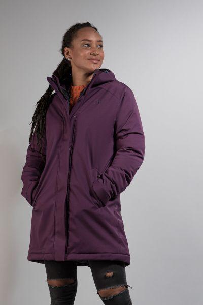 Tatonka Stir W's Hooded Parka dark purple lila Mäntel 4013236308020