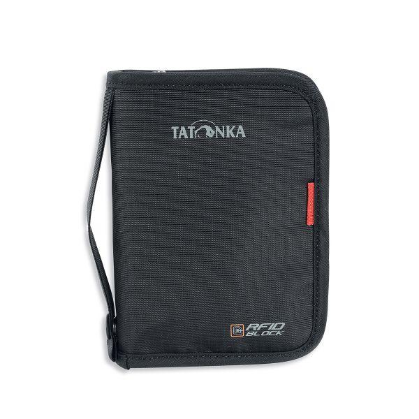 Tatonka Travel Zip M RFID B black schwarz Geldbeutel 4013236234503