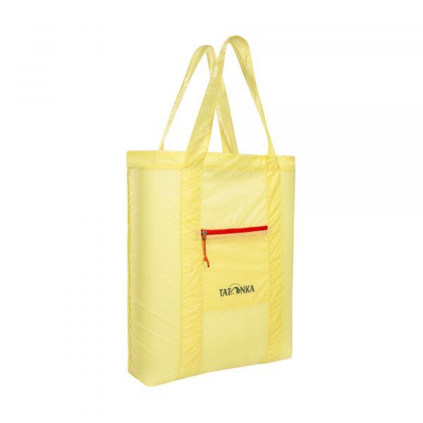 Tatonka SQZY Market Bag light yellow gelb Umhängetaschen 4013236335682