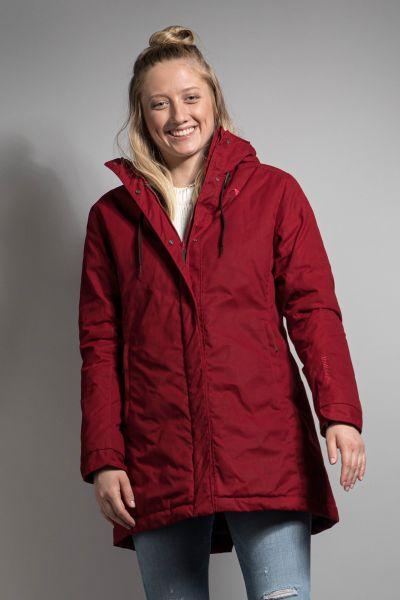 Tatonka Malava W's Hooded Coat lava red rot Jacken 4013236311341
