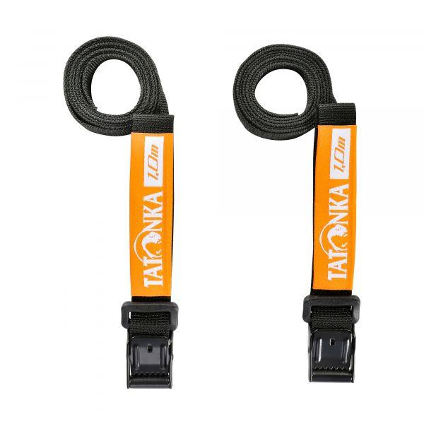 Tatonka Easy Strap 18mm/1,00m Pair black schwarz Reisezubehör 4013236335248