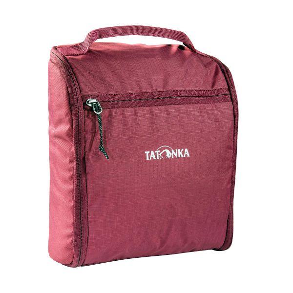 Tatonka Washbag DLX bordeaux red rot Kulturbeutel 4013236257427