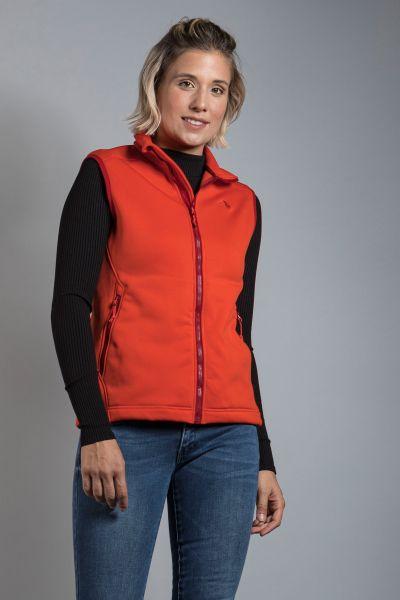 Tatonka Lhys W's Vest orange red rot Jacken 4013236340747