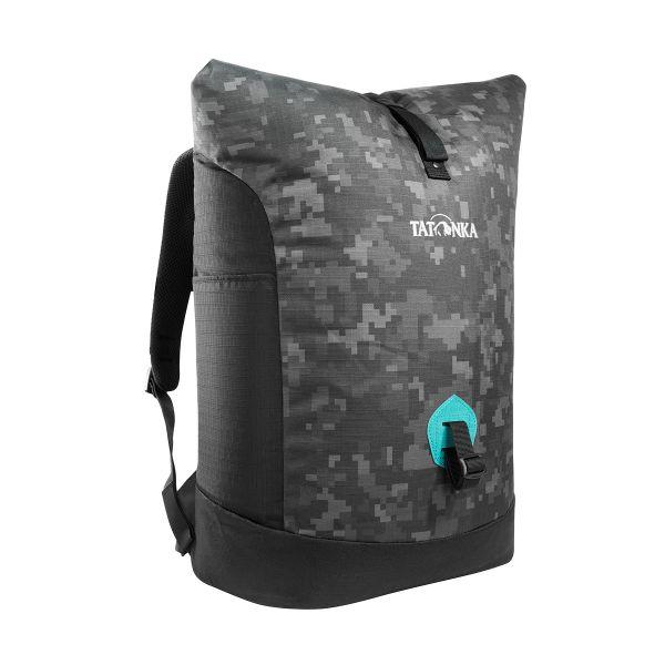 Tatonka Grip Rolltop Pack black digi camo schwarz Tagesrucksäcke 4013236288278