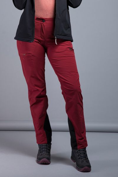 Tatonka Mountain W's Pants RECCO lava red rot Hosen 4013236322392