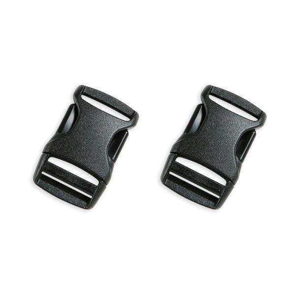 Tatonka SR-Buckle 20mm Paar black schwarz Rucksack-Zubehör 4013236336511