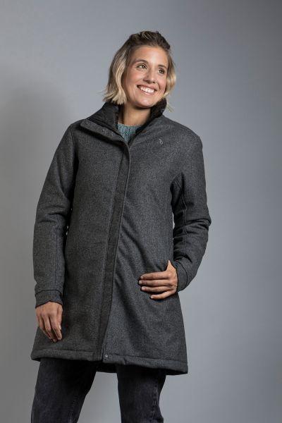 Tatonka Vejr W's Coat pebble grey grau Mäntel 4013236313123