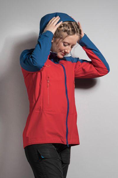 Tatonka Zenja W's RECCO Jacket naut. blue/orangered blau Jacken 4013236341577