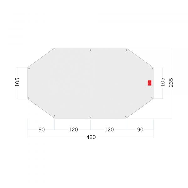 Tatonka Floor Sheet PE Buffin 4 Zelt- & Tarpzubehör 4013236335026